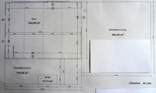 Na prenájom výrobno - skladové priestory v Komárne County Komárno LRo-PN-1118